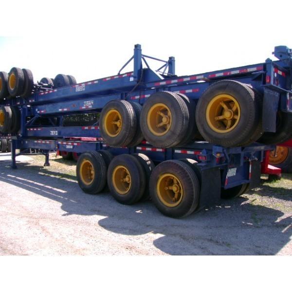 Tri Axle Chassis : Strick tri axle container chassis opa locka fl