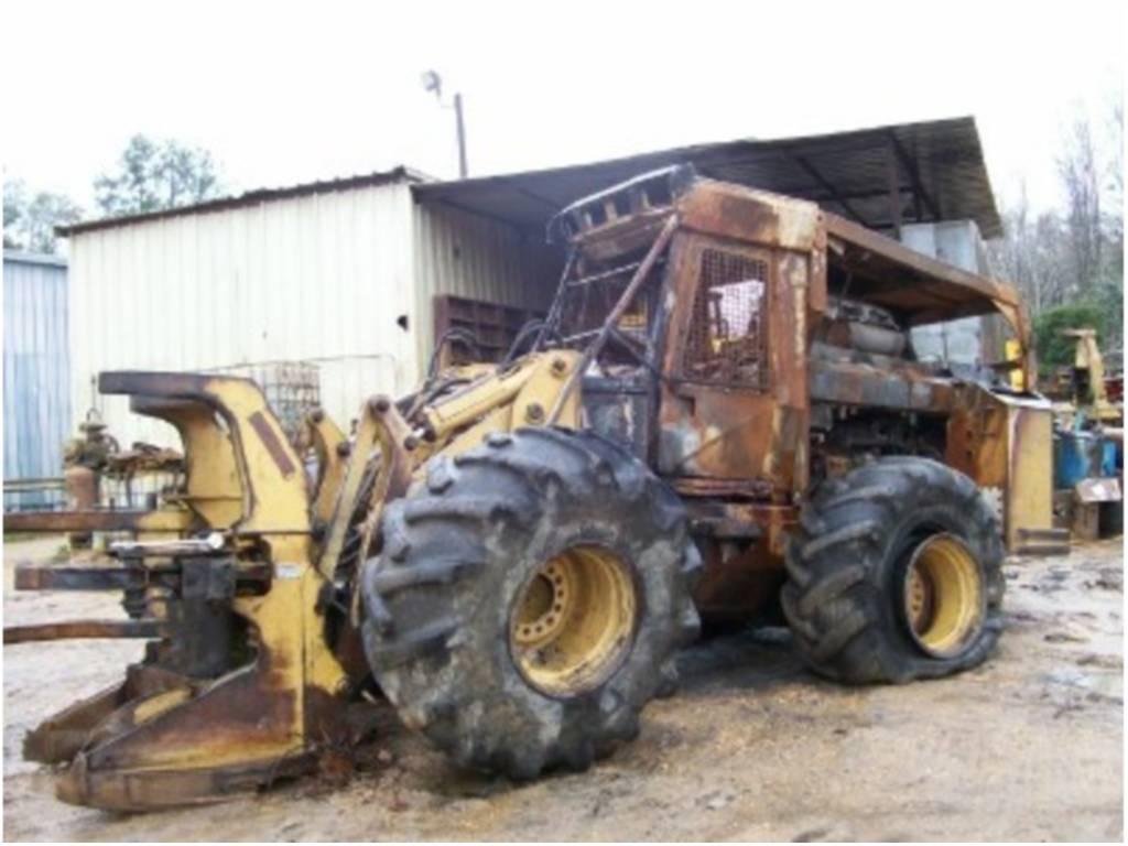 1998 Hydro Ax 411ex Parts Machine For Sale In Maplesville Al