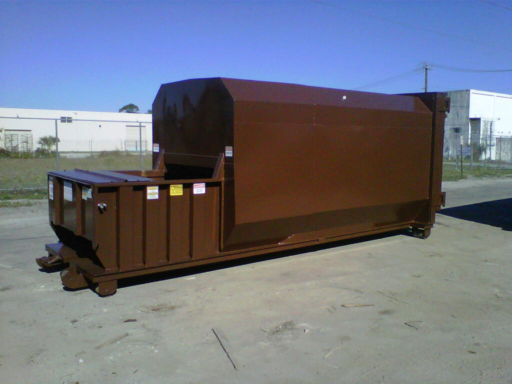 New, 2017, A PLUS, I-Pak 36CY Self Contained Compactor, Recycling Compactors