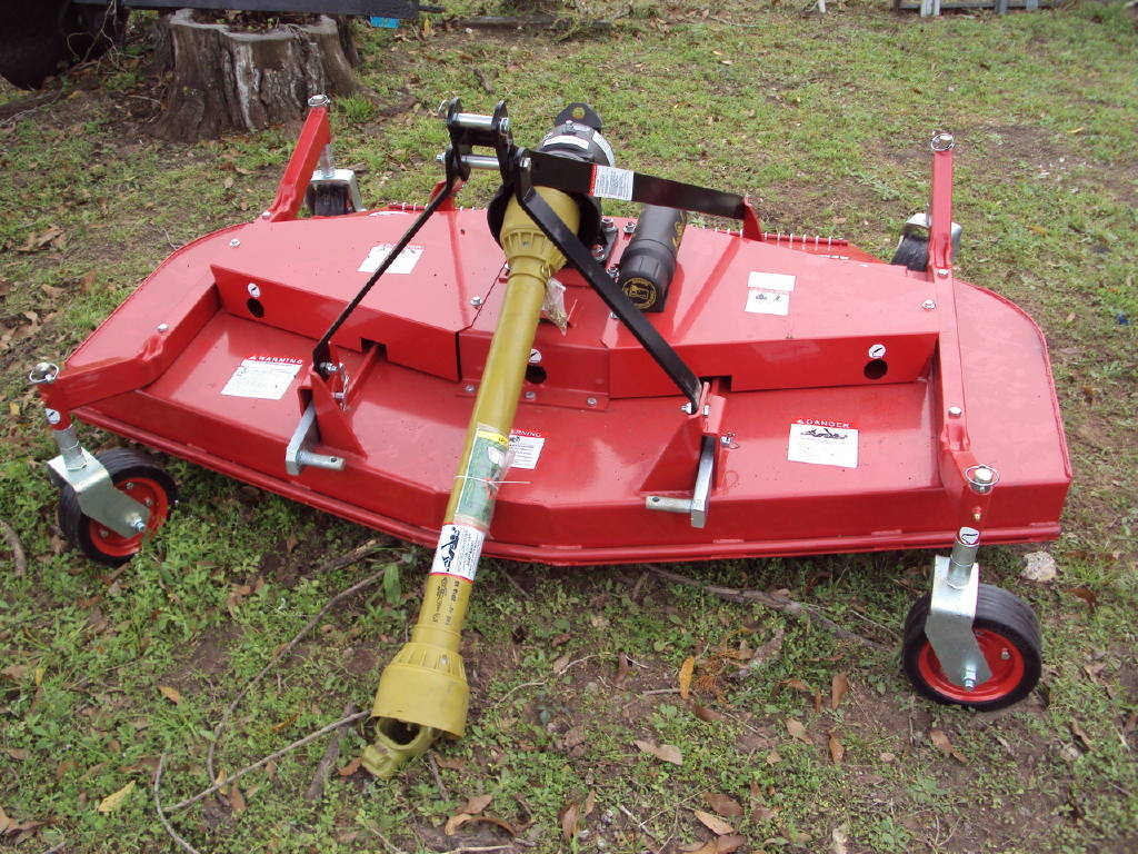 TAR RIVER 3pt 6' foot rear discharge heavy duty finish mower