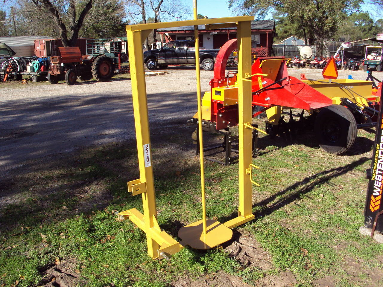 EQUIPMENT OTHER 3-Point Wire Fence Stretcher / Unroller, Magnolia TX ...