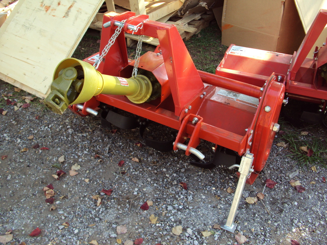 Small Tractors With Pto : Cherokee pt quot gear drive pto driven tiller magnolia tx