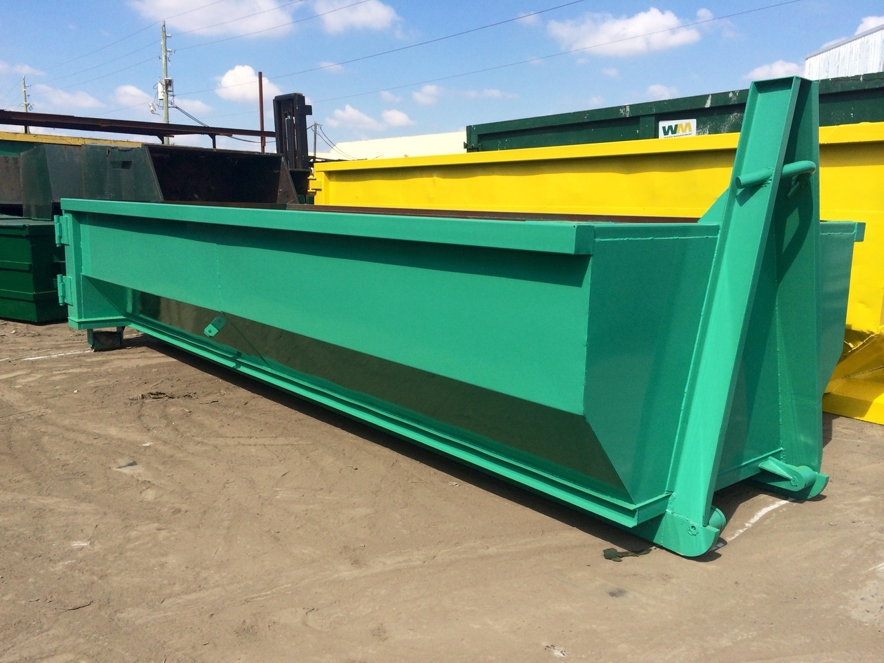 New, 2017, A PLUS, IES 20 CY ROLL OFF Hook Lift, Rolloff Containers