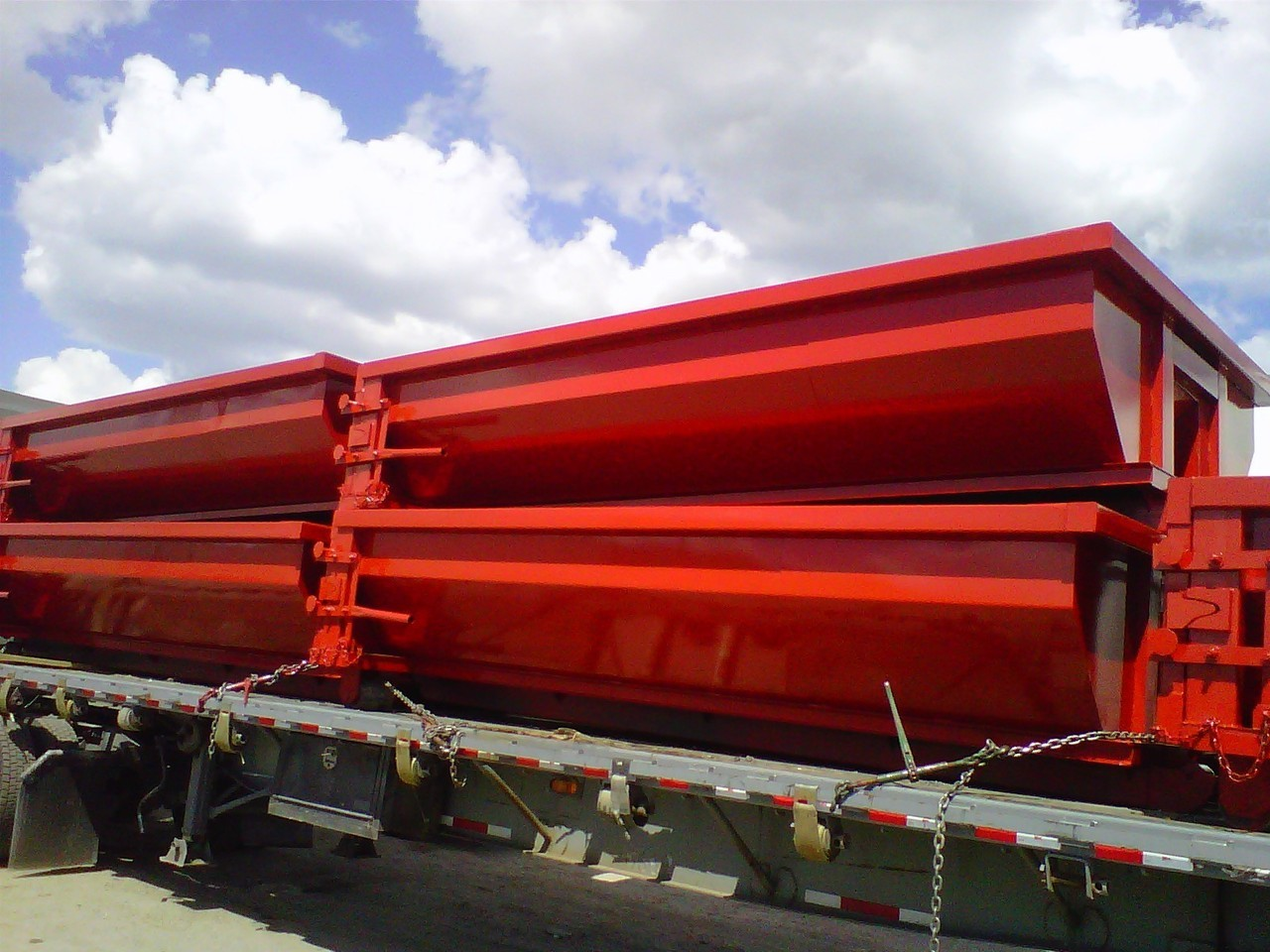 New, 2017, A PLUS, IES SALES & SERV 15 CY RO, Rolloff Containers