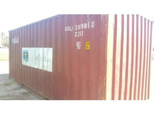 0 A PLUS A+ 20ft Dry Van Used Cargo Worthy Shipping Container, Tampa FL - 117710383 - EquipmentTraderOnline.com
