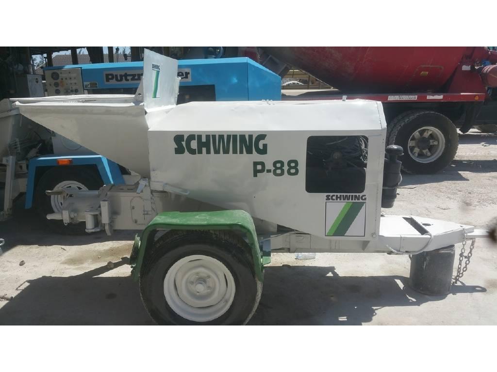 2004 Schwing P88 Concrete Pump For Sale in Miami, FL - Equipment Trader