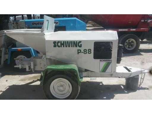 P88 Concrete Pump For Sale - Schwing Equipment - Equipment Trader