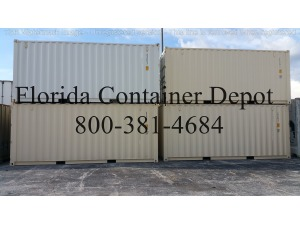 0 A PLUS 20ft Dry Van One Trip Shipping Container, Tampa FL - 117709148 - EquipmentTraderOnline.com