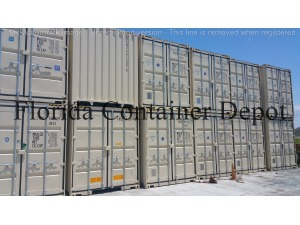 0 A PLUS 40ft Dry Van One Trip Shipping Container, Tampa FL - 118542388 - EquipmentTraderOnline.com