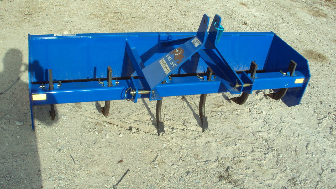 3 Point Hitch Ripper : Dirt dog new pt hd box blade sbx with ripper teeth