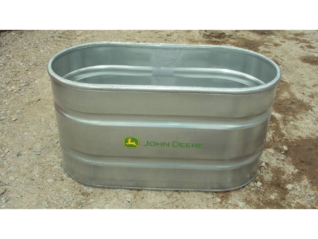0 Tarter John Deere 2'x2'x4' Galvanized Water Tank For Sale in Magnolia, TX  - Equipment Trader