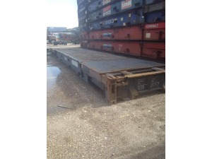 0 A PLUS 40 ' Flat Racks, Miami FL - 111195233 - EquipmentTrader