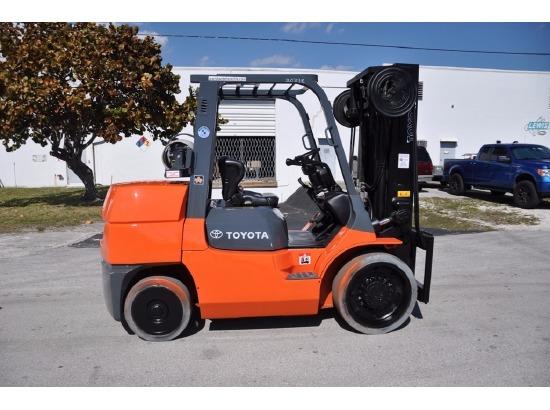 2007 TOYOTA 7FGCU55 ,Ft. Lauderdale, FL - 119138910 - EquipmentTrader