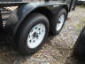 2021 TRIPLE CROWN 6X14TA UTILITY TRAILER with 2ft. mesh sides and no brak, Equipment listing