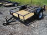 2021 TRIPLE CROWN U5X8G UTILITY TRAILER, Equipment listing