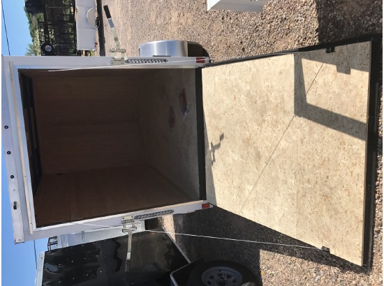 2018 Haulmark vg3000 5x10 w/ ramp door