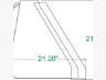"""2020 UNLIMITED FABRICATIONS 78"""" HEAVY DUTY TRACTOR BUCKET, Equipment listing"""