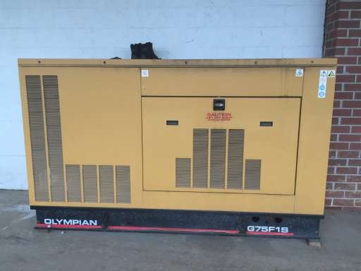 Generators for sale equipmenttrader 2001 olympian g75f1s in exton pa asfbconference2016 Choice Image
