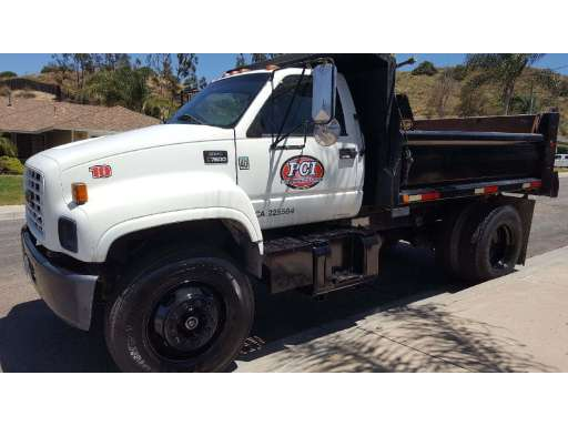 EARTHMOVING GMC Dump Trucks Equipment For Sale
