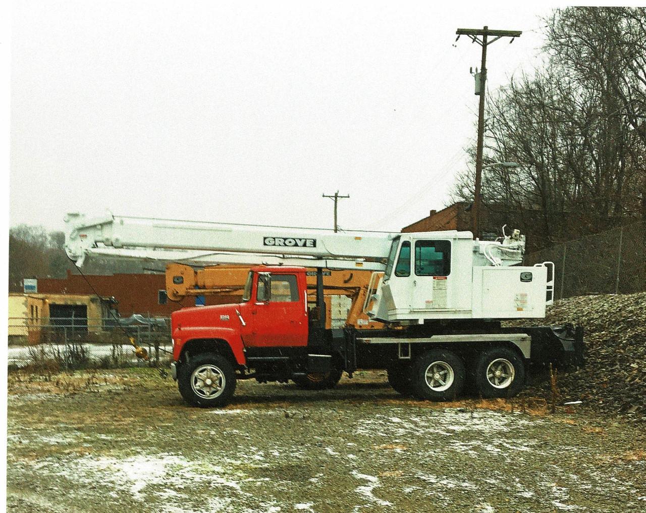 Crane Truck Equipment For Sale C 12 Cat Fuel Filter Hosing