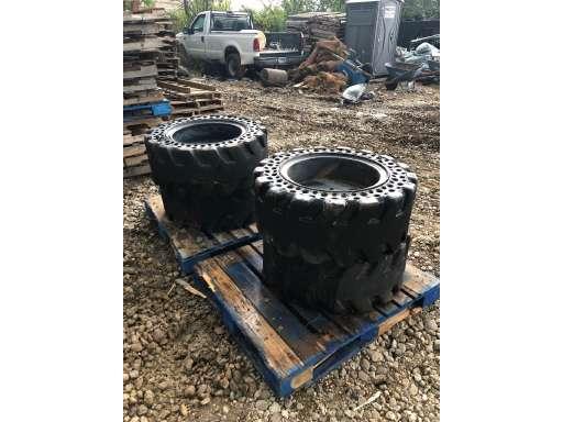 2014 Mclaren Industries 36 5 X 14-20 Nu Air Solid Cushion Tires ( R5347-C)