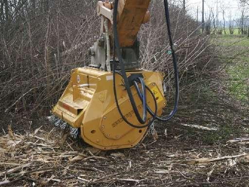 Bms 125 Excavator Mulcher For Sale - Seppi Mulcher Forestry