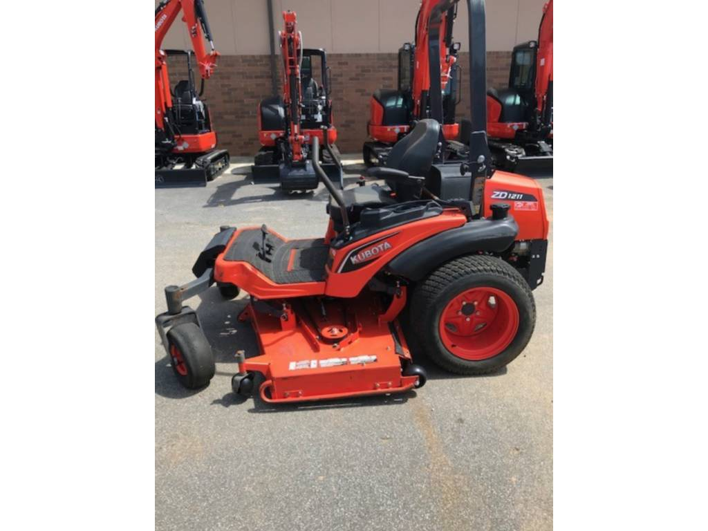 2016 Kubota ZD1211RL-72R For Sale in Marietta, GA - Equipment Trader