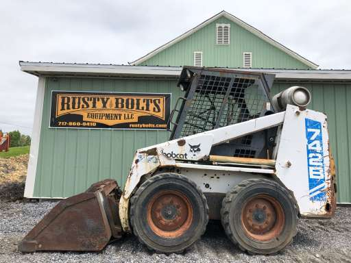 BOBCAT 742 Skid Steers Equipment For Sale - EquipmentTrader com