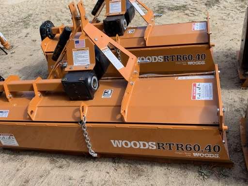 2019 Woods RTR60 40 Rotary Tiller 5ft