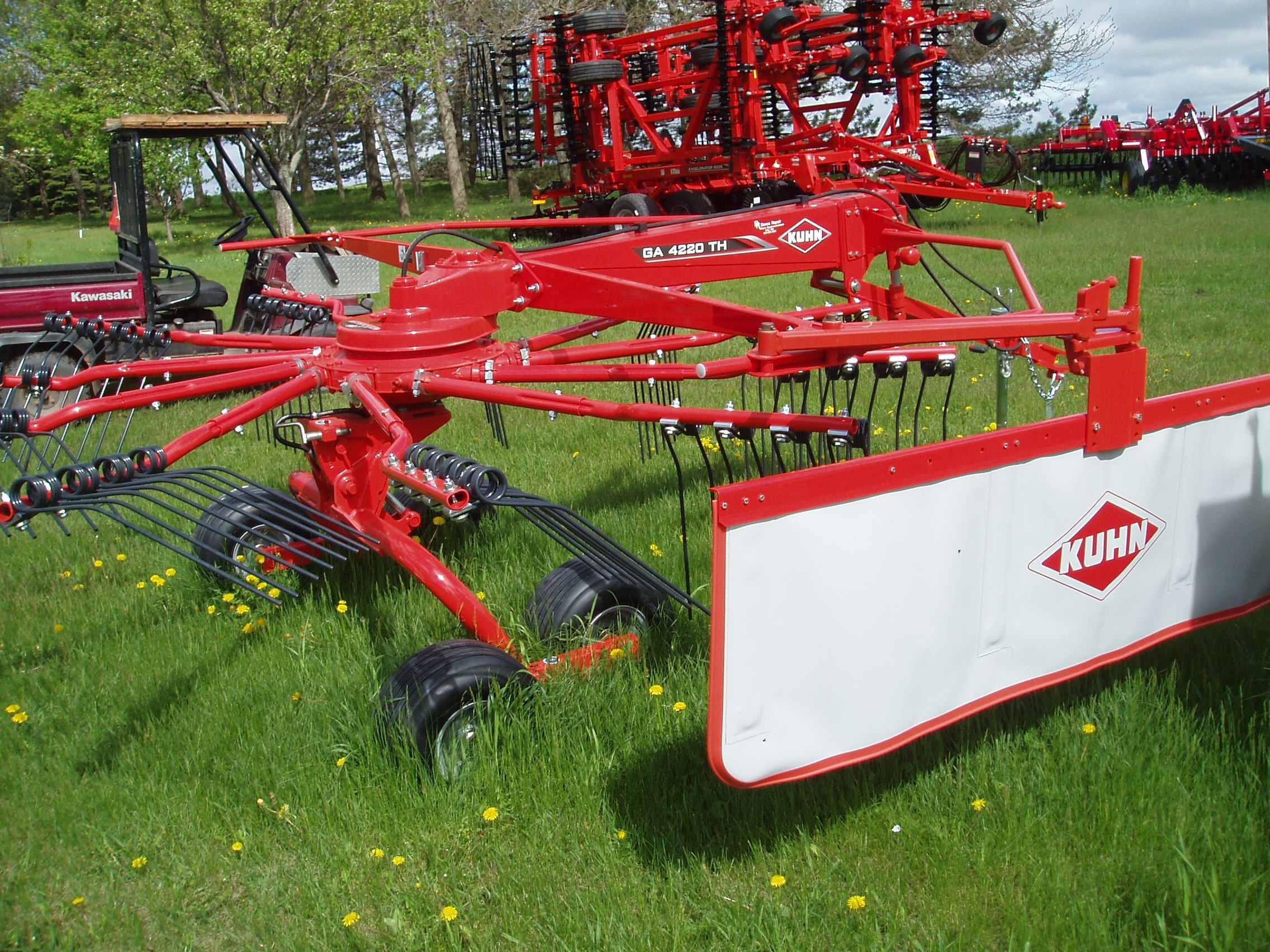 0 Kuhn Ga 4220 Th For Sale in Hills, MN - Equipment Trader
