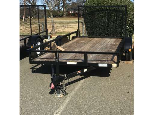 D And D Trailers >> 6 4x12 For Sale D And E Mfg Utility Trailer Equipment Trader