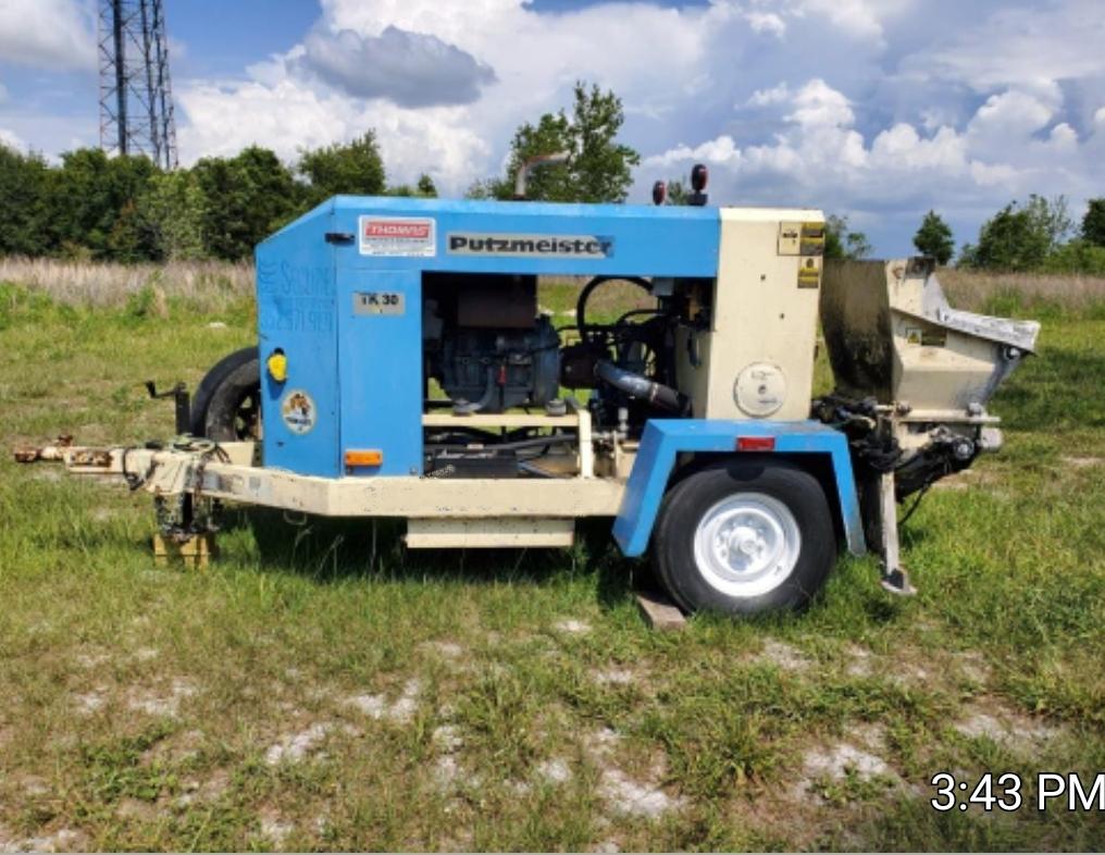 Used, 2007, PUTZMEISTER, TK30, Concrete Pumps