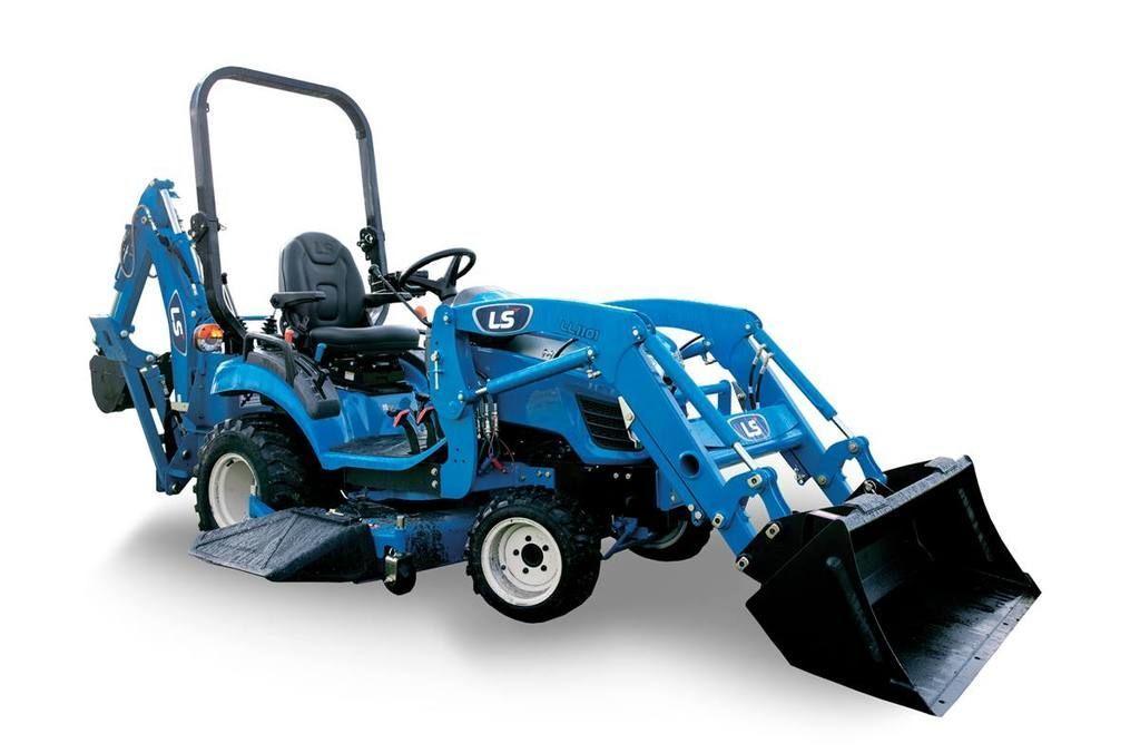 New, 2021, LS TRACTOR, MT122-21.5HP, Tractors