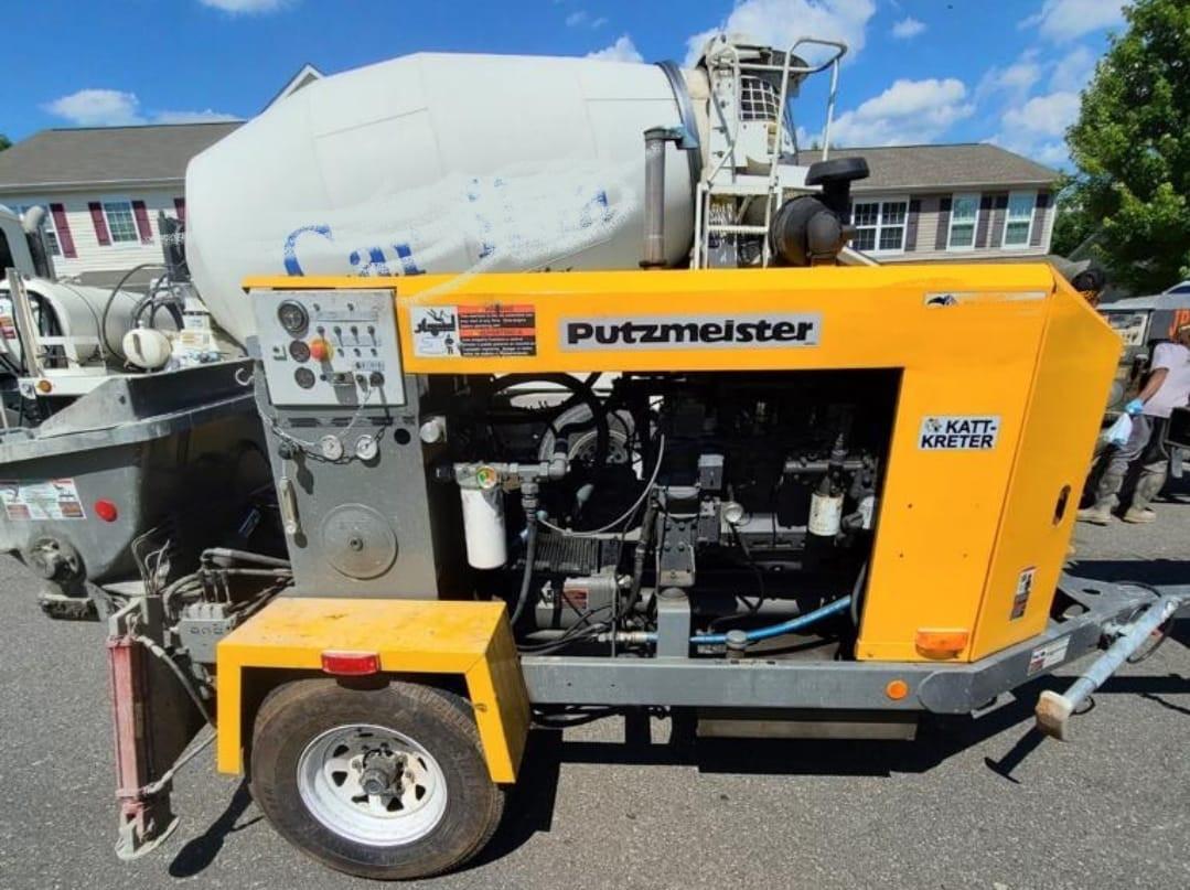 Used, 2003, PUTZMEISTER, KATT KRETER, Concrete Pumps