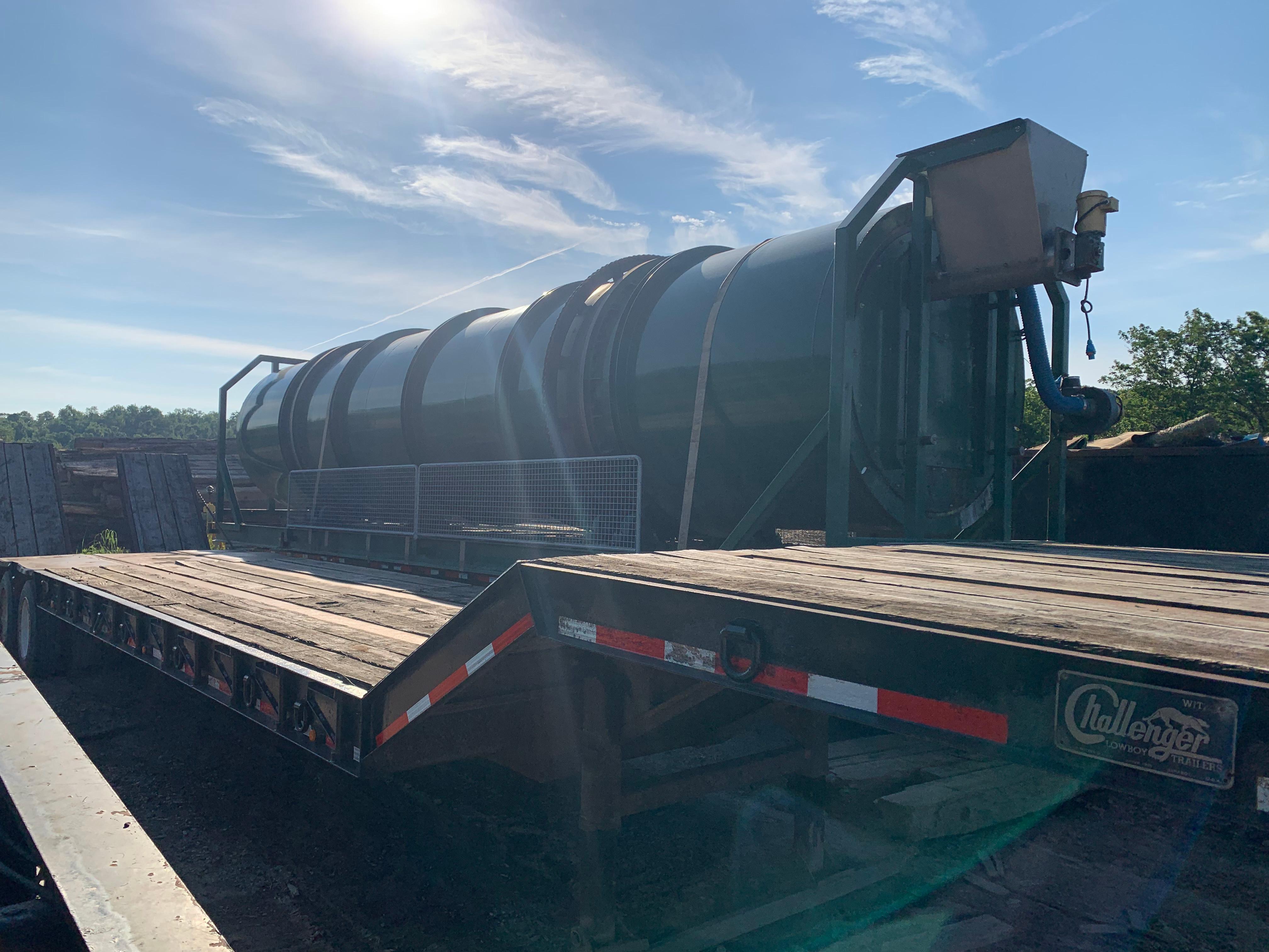 Used, 2018, DT ENVIRONMENTAL, 8-40 Enviro-Drum, Conveyor Feeders