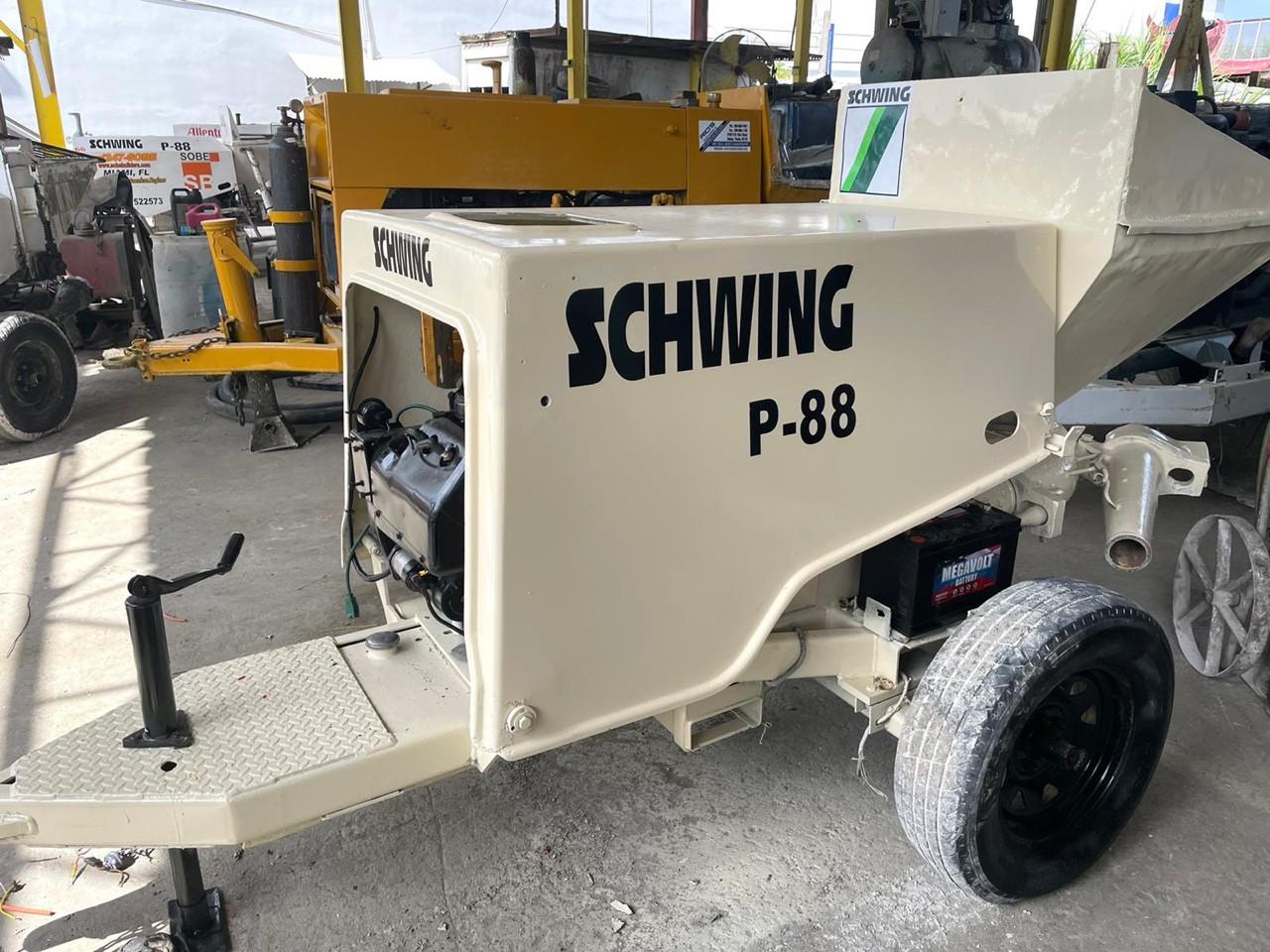 Used, 0, SCHWING, P88, Concrete Pumps