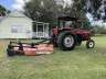 2002 Massey Ferguson 471 2WD Tractor with 8' Shredder, Equipment listing