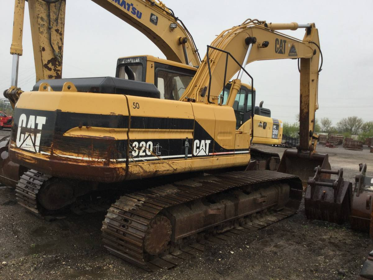 Used, 1996, CATERPILLAR, 320L, Excavators